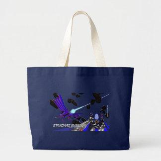 Sublight Skeeter/clear Large Tote Bag