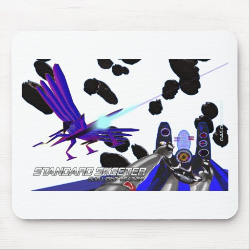 Sublight Skeeter/clear Mousepads