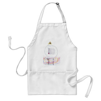 Sublimated Symbology Adult Apron