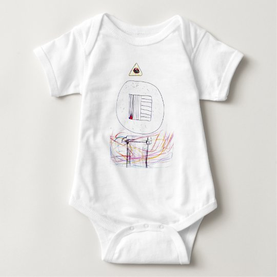 Sublimated Symbology Baby Bodysuit