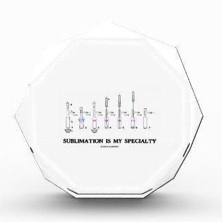 Sublimation Is My Specialty (Chemistry Attitude) Acrylic Award