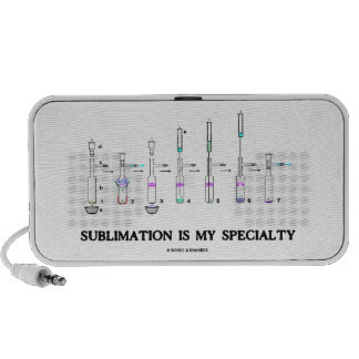 Sublimation Is My Specialty Chemistry Attitude Laptop Speaker