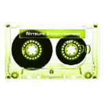 Sublime Lime Mixtape Double-Sided Standard Business Cards (Pack Of 100)
