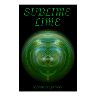 SUBLIME LIME POSTER