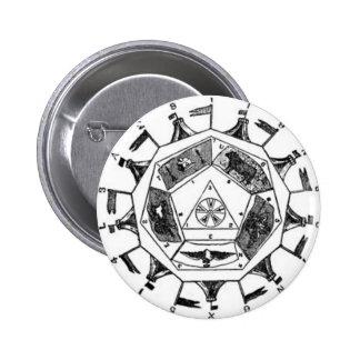 Sublime Prince of the Royal Secret Pinback Button