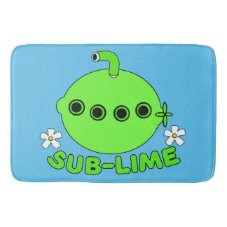 Sublime Sub Lime Bath Mat