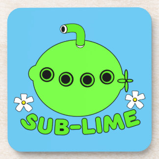 Sublime Sub Lime Drink Coaster