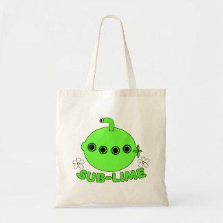 Sublime Sub Lime Tote Bag