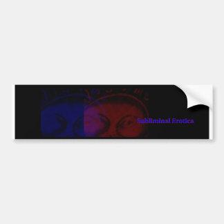 Subliminal Erotica Bumper Sticker
