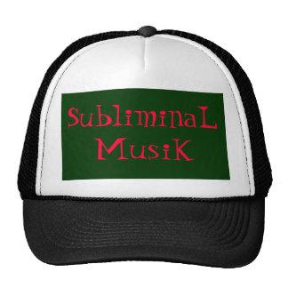 SubliminaL MusiK Trucker Hat
