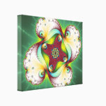 Subltle Glow - Fractal Art Canvas Print