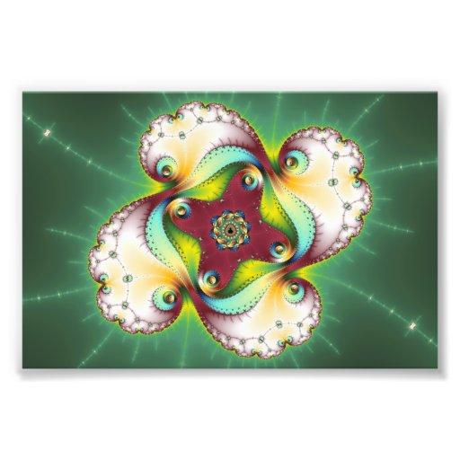 Subltle Glow - Fractal Art Photo Art