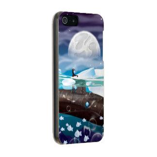 Submarine Arctic Adventure Metallic iPhone SE/5/5s Case