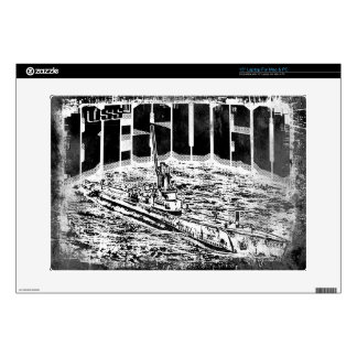 "Submarine Besugo Vinyl Device Protection Skin 15"" Laptop Decal"