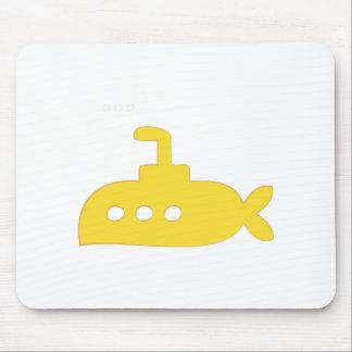 Submarine Boat Mousepad