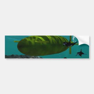 Submarine Bumper Sticker