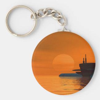 Submarine Llavero Redondo Tipo Pin