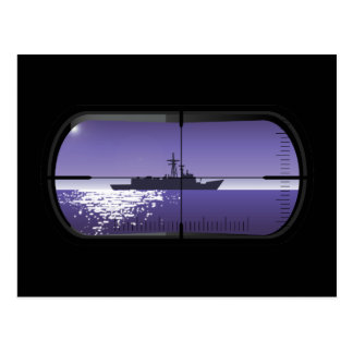 Submarine Patrol Postcard