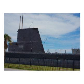 Submarine Postcard