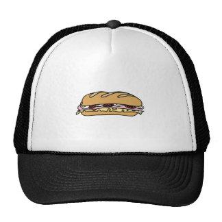 Submarine Sandwich Mesh Hat