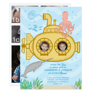 Twins 3rd Birthday Gifts On Zazzle