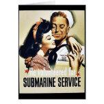 Submarine Service Card