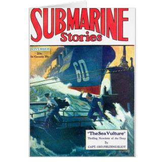 Submarine Stories Card