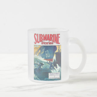 Submarine Stories Frosted Glass Coffee Mug