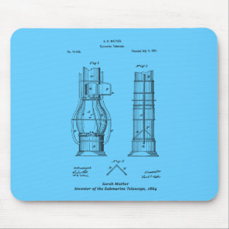 Submarine Telescope, Sarah Mather Mouse Pad