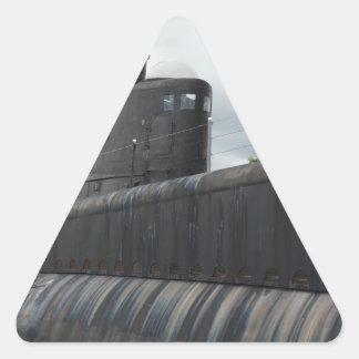 Submarine Triangle Sticker