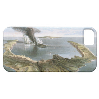 Submarine Volcano Island of Santorini iPhone SE/5/5s Case