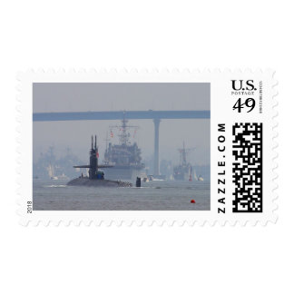 Submarines Subs Nuclear Ships Navy Stamps