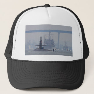 Submarines Subs Nuclear Ships Navy Trucker Hat