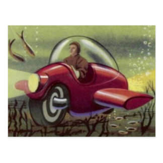 SUBMARINNE MOTOR CYCLE POSTCARD