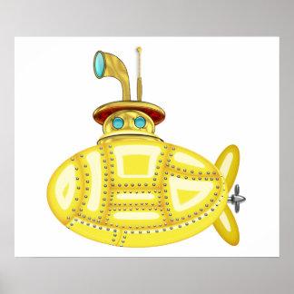 Submarino amarillo posters