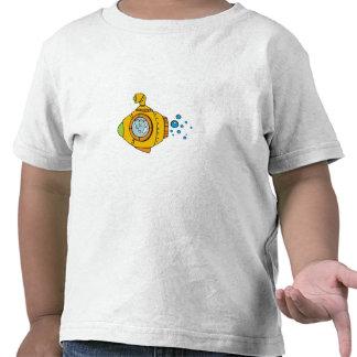 Submarino amarillo camisetas