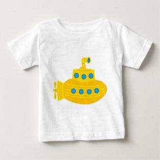 Submarino amarillo playera de bebé
