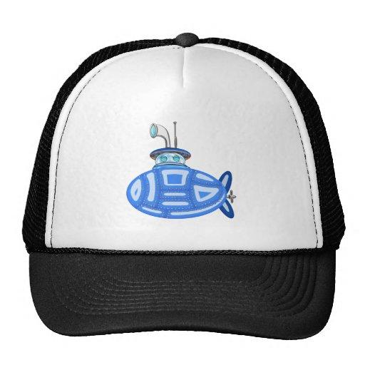 Submarino azul gorro