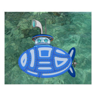 Submarino azul posters