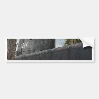 Submarino Pegatina De Parachoque