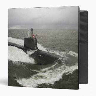 """submarino de ataque del Virginia-class Carpeta 1 1/2"""""""