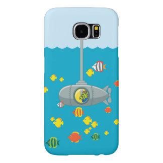 Submarino de la mirada furtiva Tom (Samsung) Funda Samsung Galaxy S6