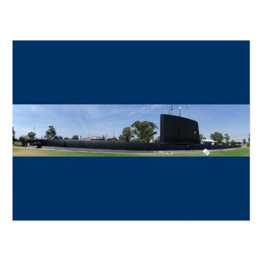 Submarino de la tierra postal