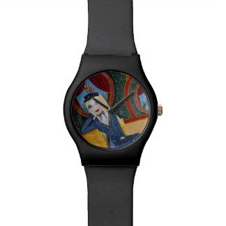 Submarino de Steampunk - Julio Vern inspirado Reloj De Mano