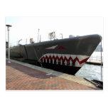 Submarino del tiburón postal