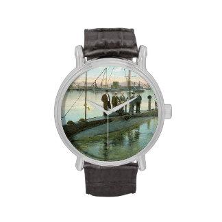 Submarino del vintage reloj de mano
