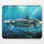 Submarino Mousepad de Steampunk Alfombrillas De Ratón