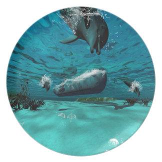 Submarino Plato De Comida