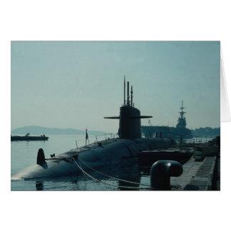 Submarino SSB del misil balístico de USS Ulysses Tarjeta De Felicitación