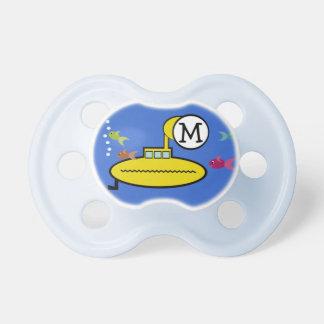 Submarino tonto chupete de bebé